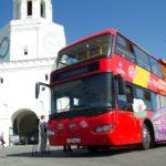 В Госдуме предложили разрешить туристическим автобусам ездить по выделенной полосе