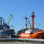 Бывший плавучий маяк «Ирбенский» в Калининграде стал музеем