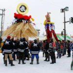 Зимний фестиваль священных шестов «бонтен» пройдет в Японии